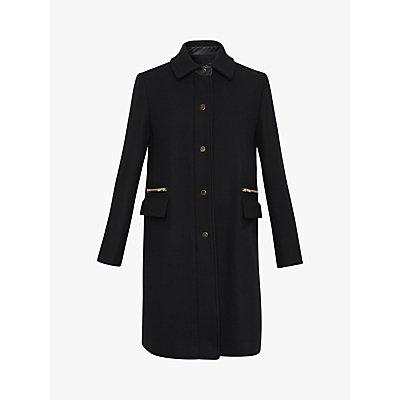 Gerard Darel Phanie Coat, Black