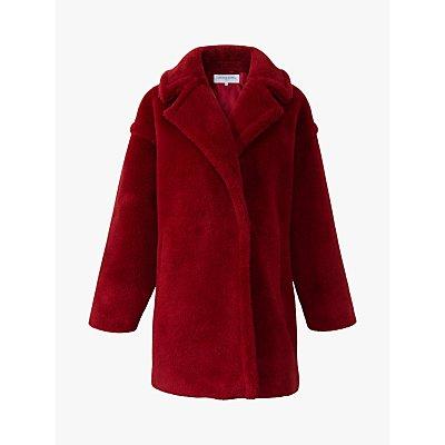 Gerard Darel Perrine Faux Fur Coat