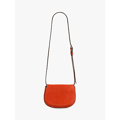 Gerard Darel Miss Leather Shoulder Belt Bag, Orange