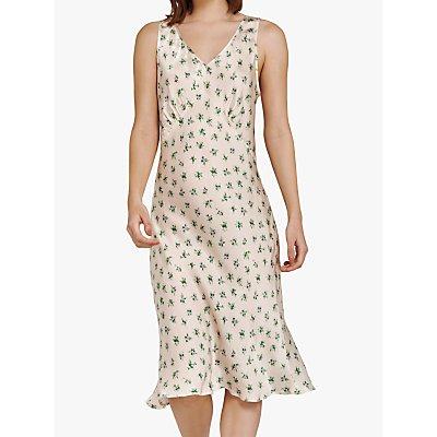 Ghost Summer Dress, White/Multi