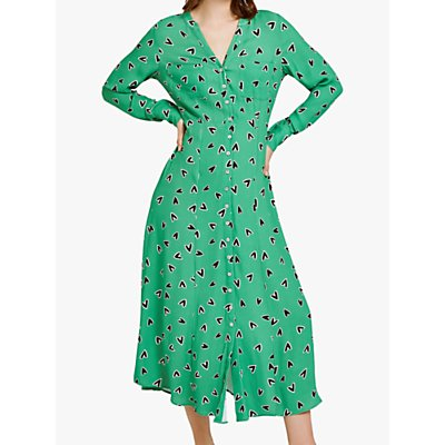 Ghost Amber Dress, Green