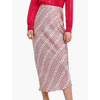 Ghost Harper Skirt, Striped Ditsy Floral