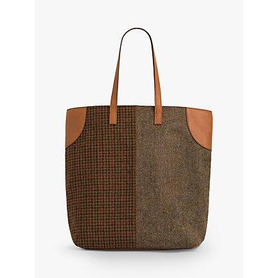 Gerard Darel John Wool Tote Bag, Camel