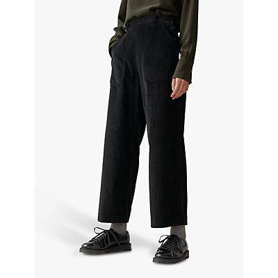 Toast Cord Wide Leg Trousers, Brown Slate