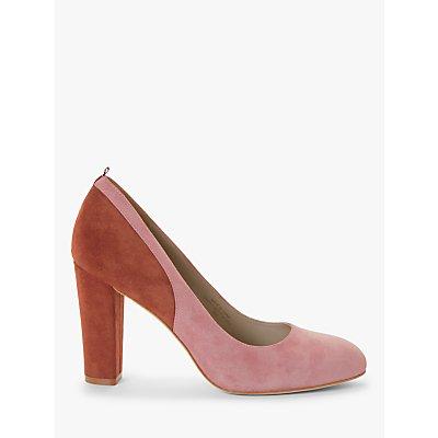 Boden Cathy Suede Colour Block Court Shoes