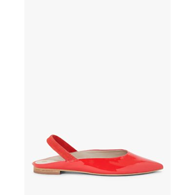 Boden Hannah Patent Leather Slingback Flats