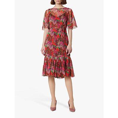 L.K.Bennett Boe Floral Midi Dress, Multi