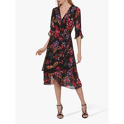 Gina Bacconi Marilene Dress, Black/Multi