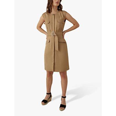 Karen Millen Utility Dress, Camel