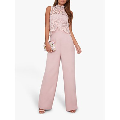 Chi Chi London Anastasia Jumpsuit, Mink