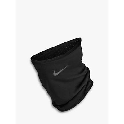 Nike Run Therma Sphere Neck Warmer  Black Silver - 0887791350121