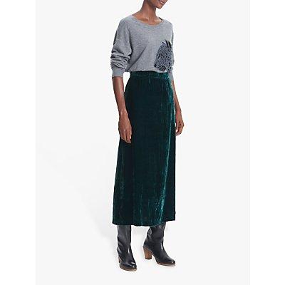 Gerard Darel Tally Midi Skirt, Green