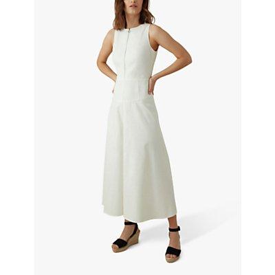 Karen Millen Utility Jumpsuit, Ivory