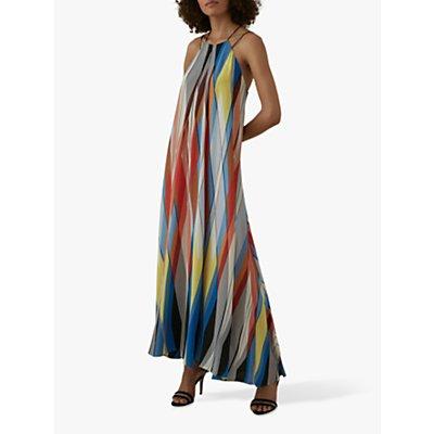 Karen Millen Striped Maxi Dress, Multi