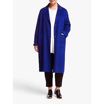 Persona by Marina Rinaldi Wool Blend Coat, China Blue