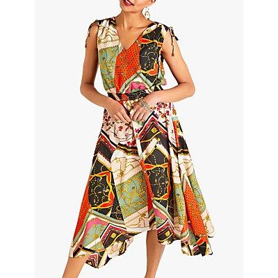 Yumi Slinky Patchwork Dress, Multi