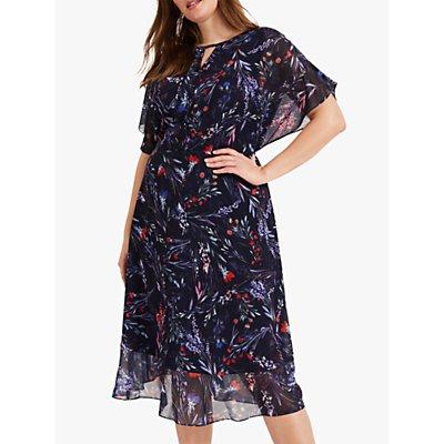Studio 8 Arabella Print Dress, Navy