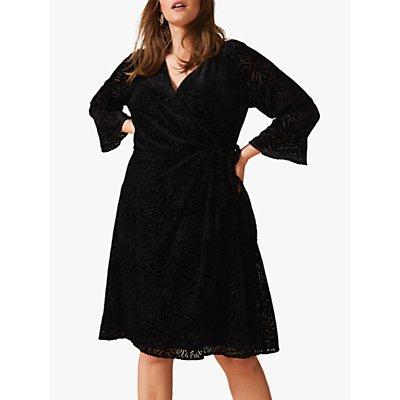 Studio 8 Lucia Velvet Dress, Black
