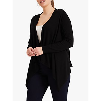 Studio 8 Freya Waterfall Cardigan, Black