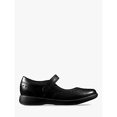 Clarks Children s Etch Craft Mary Jane School Shoes  Black - 5050409987759