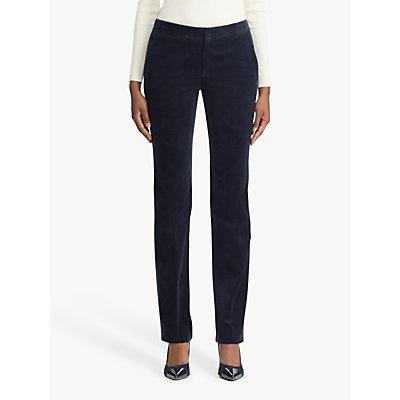 Lauren Ralph Lauren Quartilla Straight Trousers, Lauren Navy