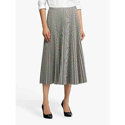 Lauren Ralph Lauren Suzi A Line Pleated Skirt, Brown