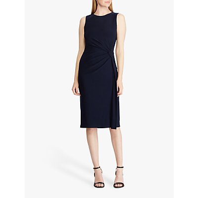 Lauren Ralph Lauren Talen Sleeveless Jersey Dress, Lighthouse Navy