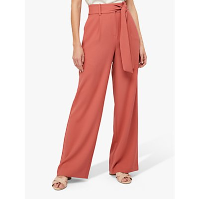Monsoon Stefani Co-Ord Trousers, Rose Pink