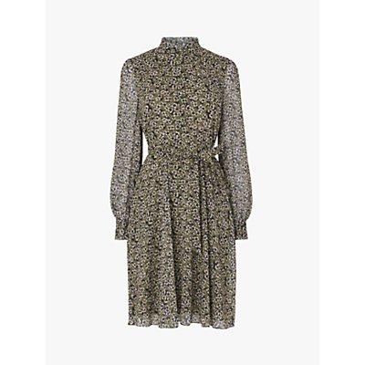 L.K.Bennett Liza Floral Dress, Olive