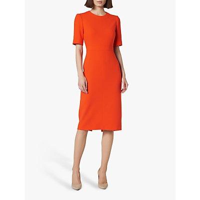 L.K.Bennett Elene Shift Dress, Orange
