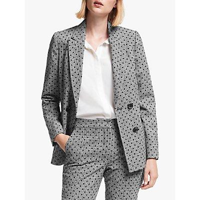 Boden Fawcett Blazer Jacket, Grey