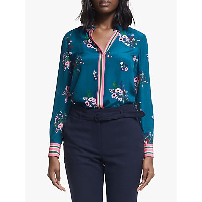 Boden The Silk Shirt, Country Posy
