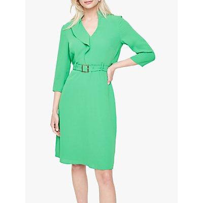 Damsel in a Dress Cindie Belted Dress, Green
