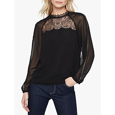 Damsel in a Dress Sania Lace Detail Blouse