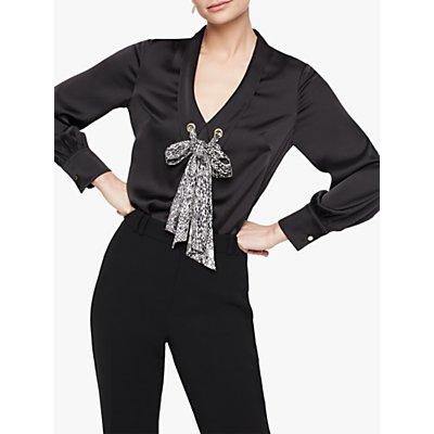Damsel in a Dress Fabrissa Snake Print Blouse