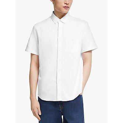 Kin Cotton Linen Twill Short Sleeve Shirt