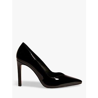 Karen Millen Patent Leather Stiletto Heel Court Shoes