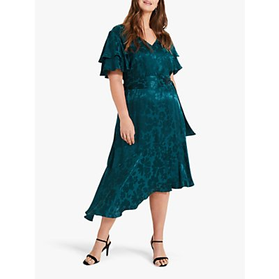 Studio 8 Lavinia Jacquard Dress, Green