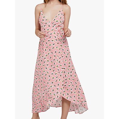 Ghost Bibi Floral Dress, Pink