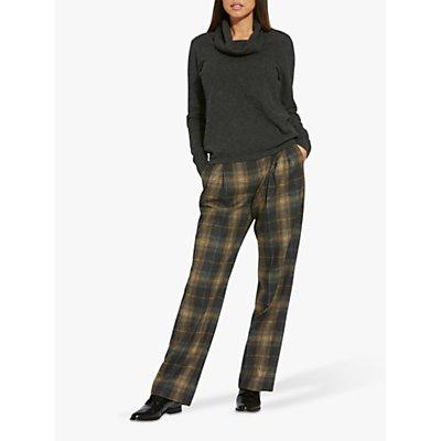 Helen McAlinden Sophie Check Pants, Neutral/Multi