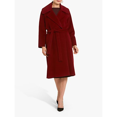 Helen McAlinden Jodie Coat, Ruby Red