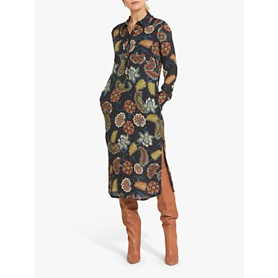 Helen McAlinden Kriss Printed Shirt Dress, Multi