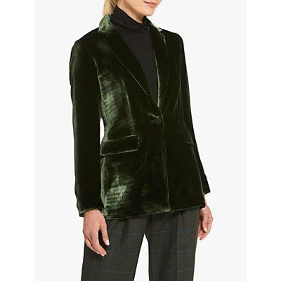 Helen McAlinden Willow Luxe Velvet Blazer