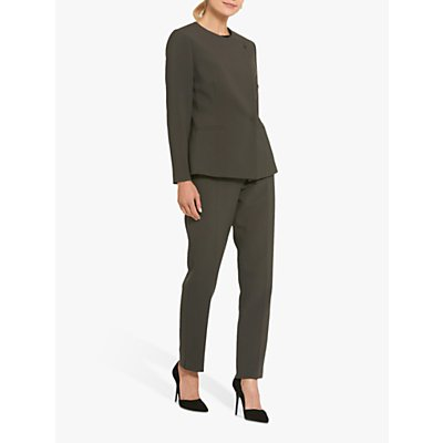 Helen McAlinden Jill Tailored Trousers, Olive