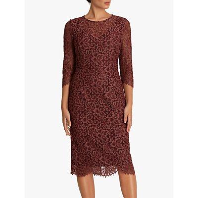 Fenn Wright Manson Petite Lourdes Dress, Burgundy