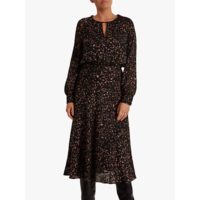 Fenn Wright Manson Rosalie Dress, Black/Toffee