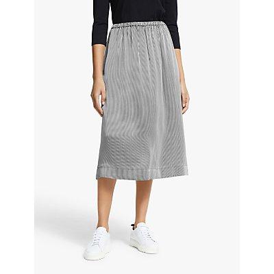 John Lewis & Partners Pull On Midi Skirt