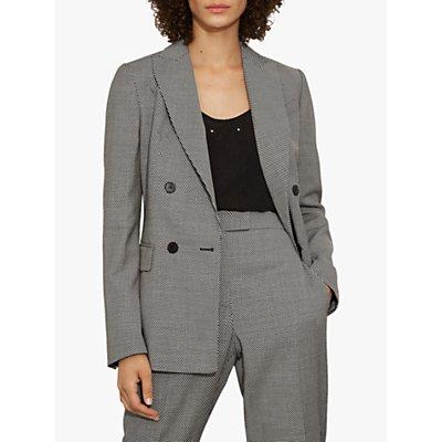 Karen Millen Chevron Tailored Blazer, Multi