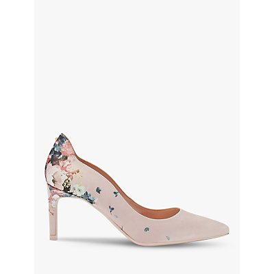 Ted Baker Eriinp Pointed High Heel Court Shoes, Pink