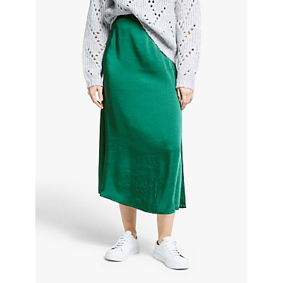 Gestuz Kamryn Satin Maxi Skirt